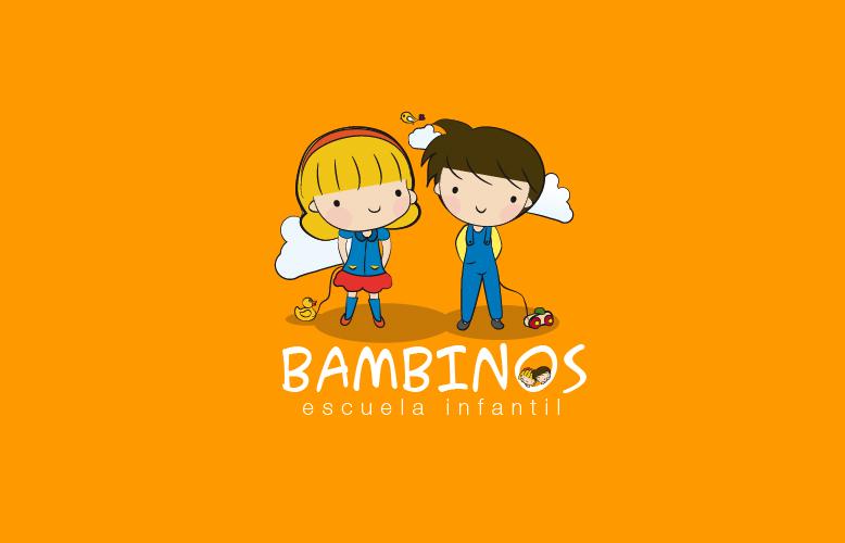Logotipo de la Escuela Infantil Bambinos
