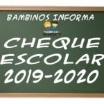 LISTADOS PROVISIONALES CHEQUE ESCOLAR