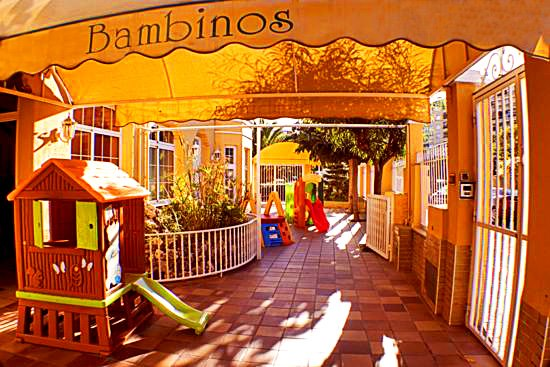 patio de la Escuela Infantil Bambinos