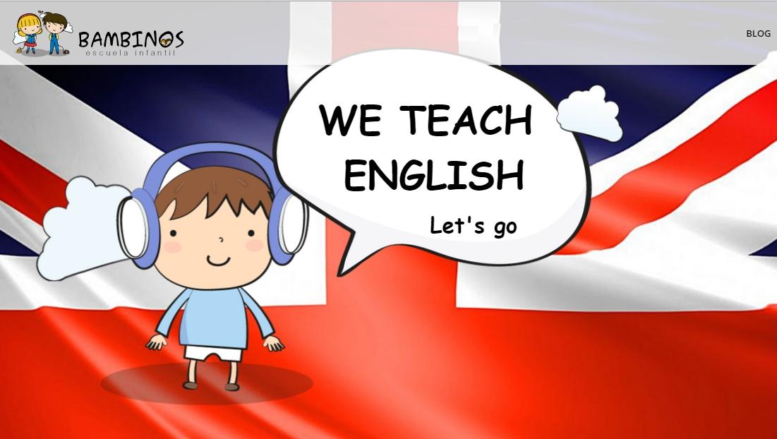 clases de inglés en Escuela Infantil Bambinos