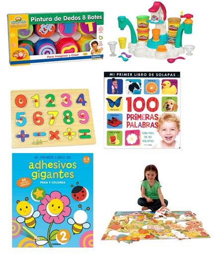 regalos para niños de 1 a 3 años