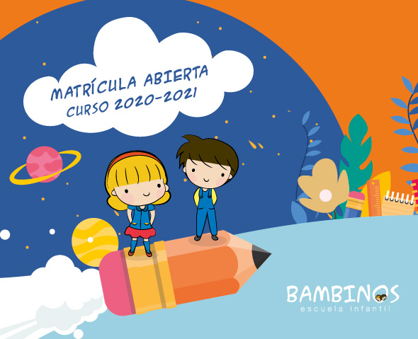Escuela infantil Bambinos Matrícula abierta 2020-2021
