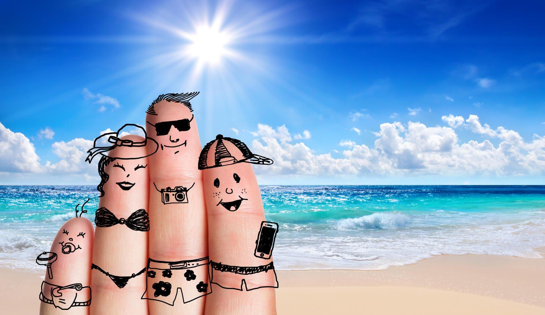 Cómo afectan las vacaciones a los niños