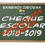 Anexo II cheque escolar 19-20
