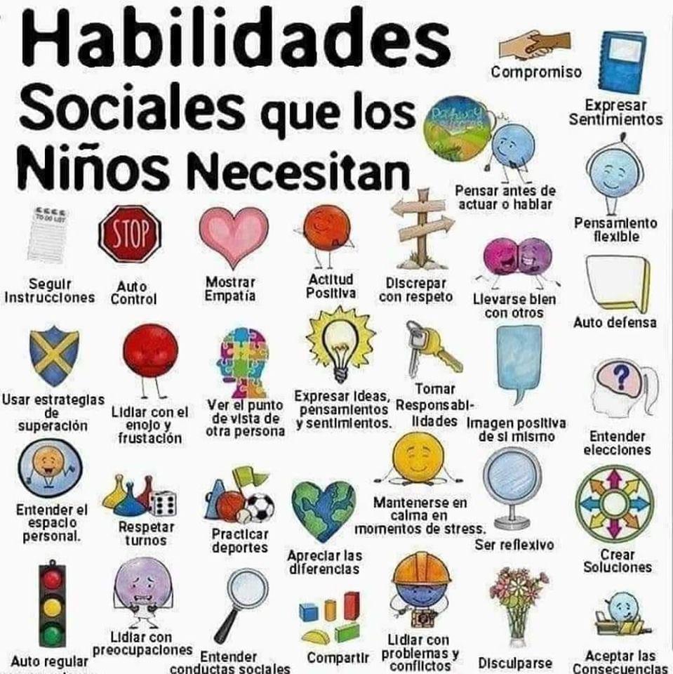 La importancia de las habilidades sociales en los niños. Escuela Infantil Bambinos