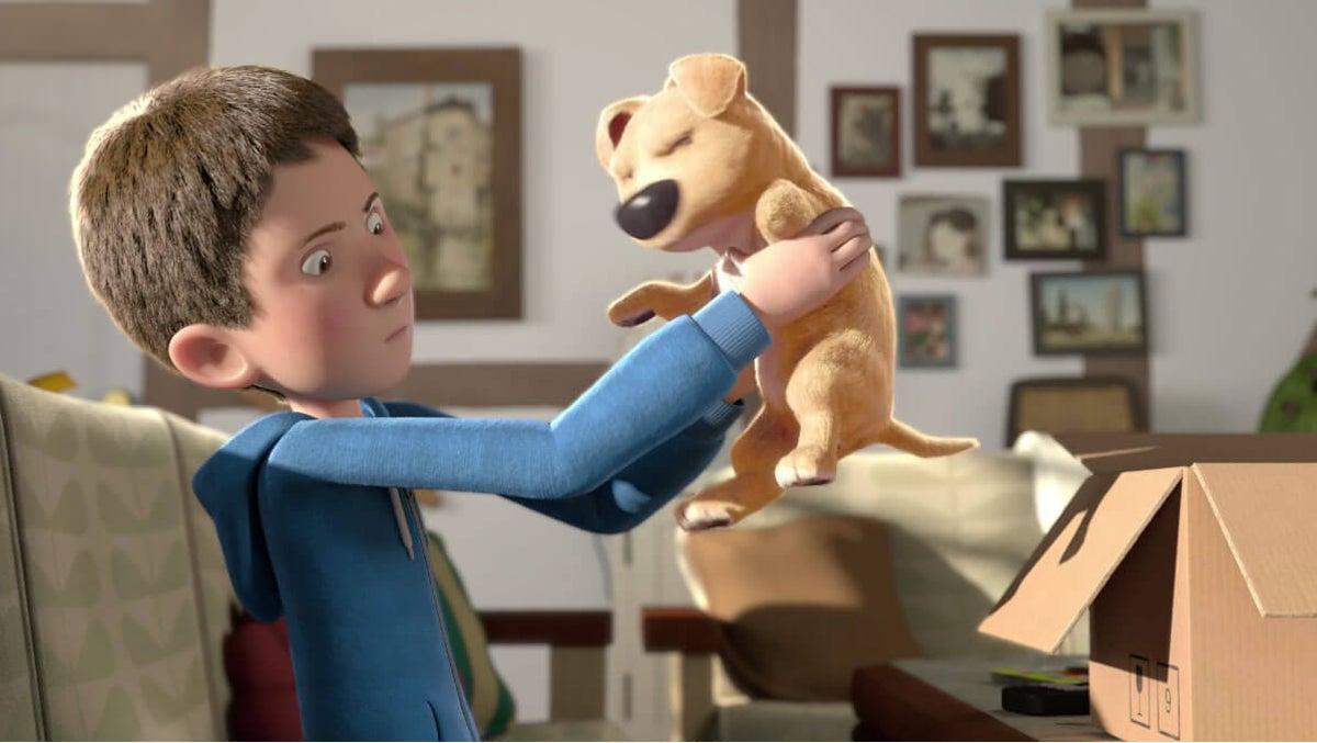 El regalo. Corto de animación. Bambinos