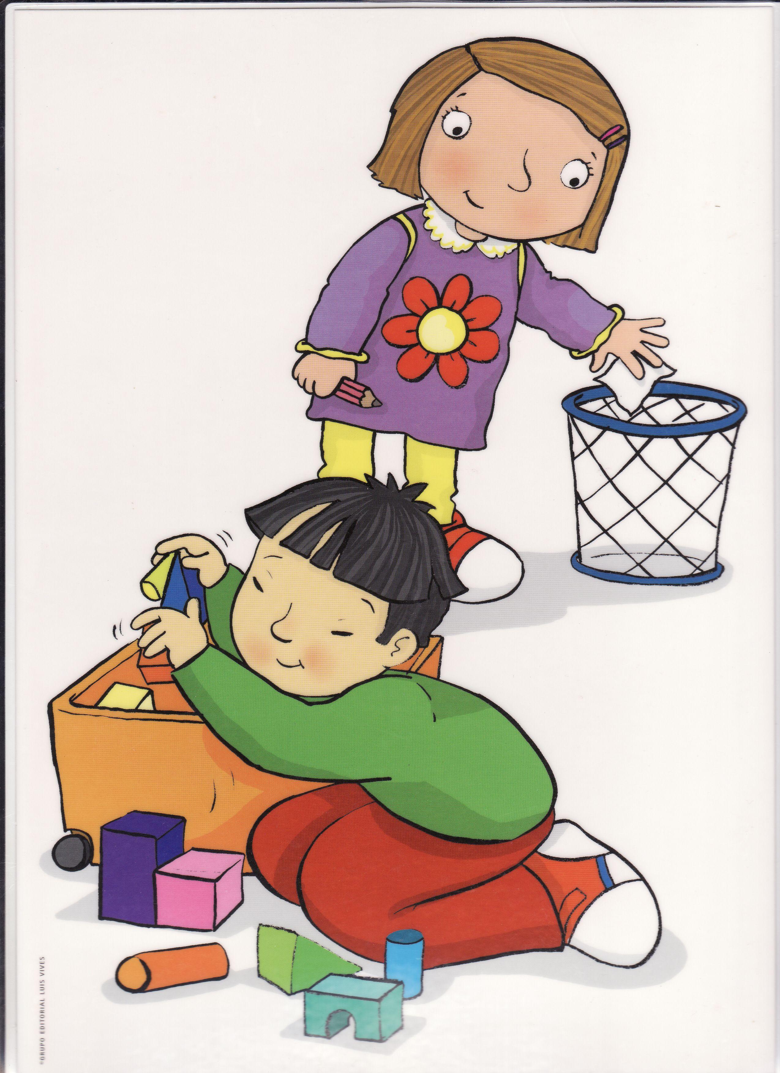 Ejercer responsabilidades en edades infantiles