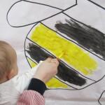 Pintura en edad infantil